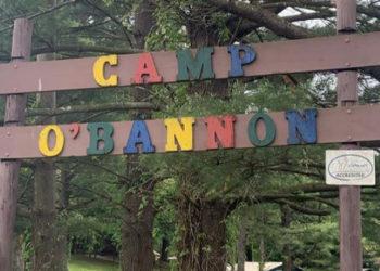 Camp O'Bannon sign