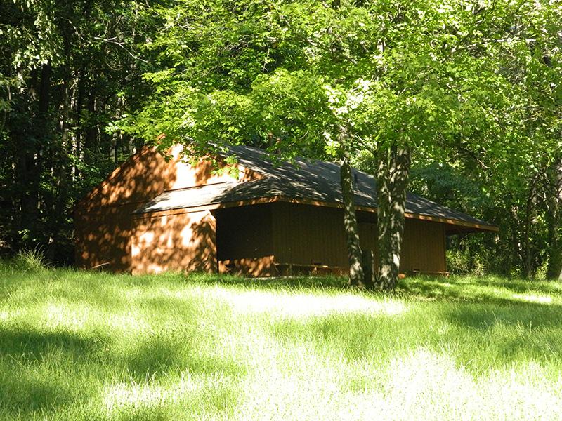 outdoor camp building